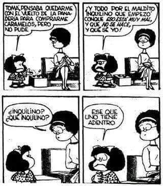 Mafalda inquilino javier hernandez aguiran
